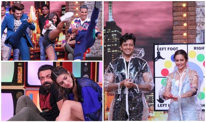 Housefull 4's star cast on Maniesh Paul's comedy talk show