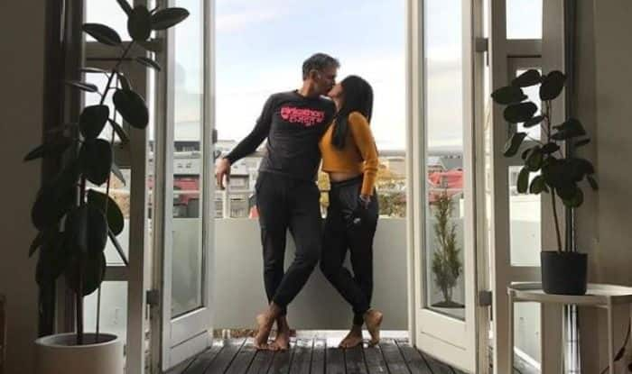 Ankita Konwar and Milind Soman give fans a sneak-peek into their Iceland romance