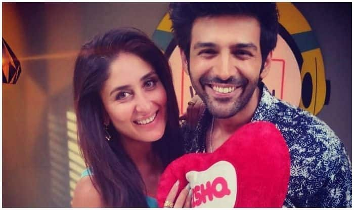 Kareena Kapoor Khan with Kartik Aaryan