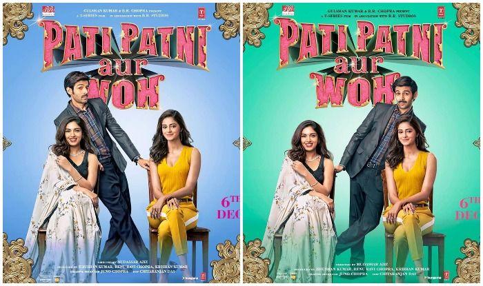 Pati Patni Aur Woh makers drop all character posters featuring Kartik Aaryan, Bhumi Pednekar and Ananya Panday