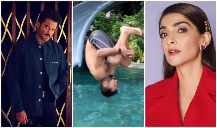 Anil Kapoor, Anand Ahuja and Sonam Kapoor