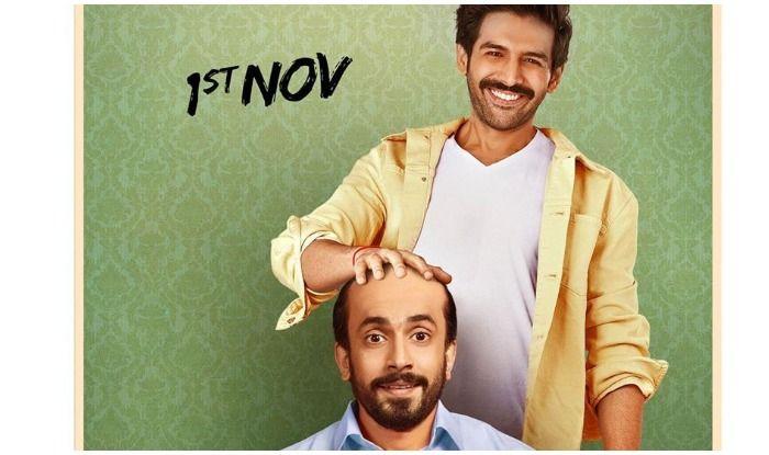Kartik Aaryan and Sunny Singh in Ujda Chaman's new poster