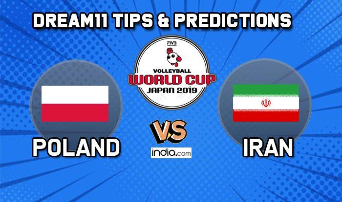 dream 11 tips poland vs iran volleyball world cup