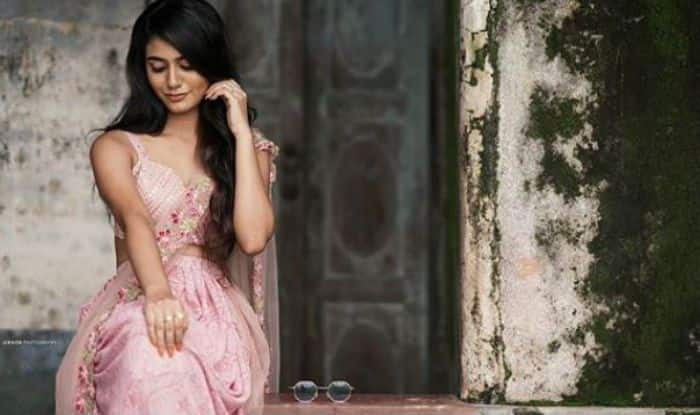 Malayalam Bombshell Priya Prakash Varrier's Hot And Sexy Picture in a Pink Saree Will Make Day