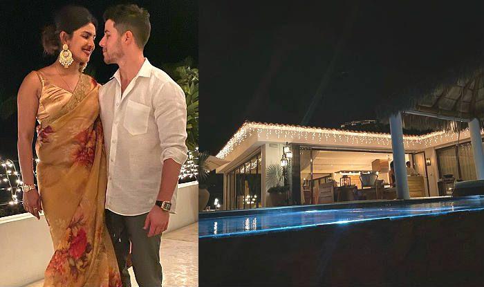 Priyanka Chopra Celebrates Diwali With Nick Jonas Wearing a Sabyasachi Saree – Check Viral Photos