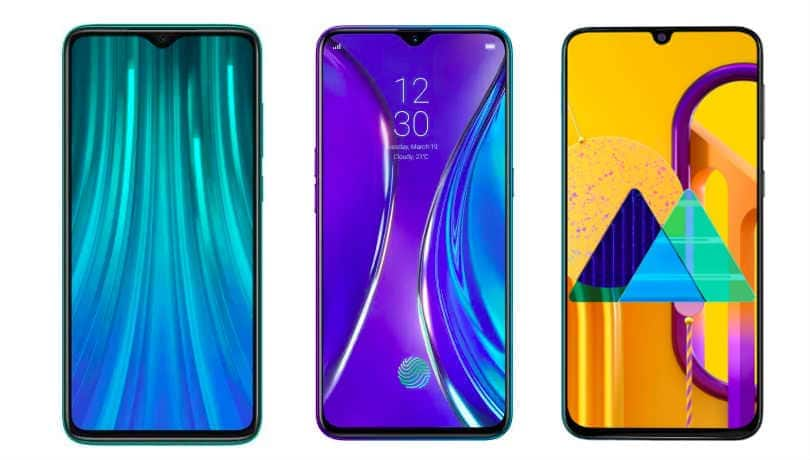 Redmi Note 8 Pro vs Realme XT vs Samsung Galaxy M30s: Price in India, specifications and features compared