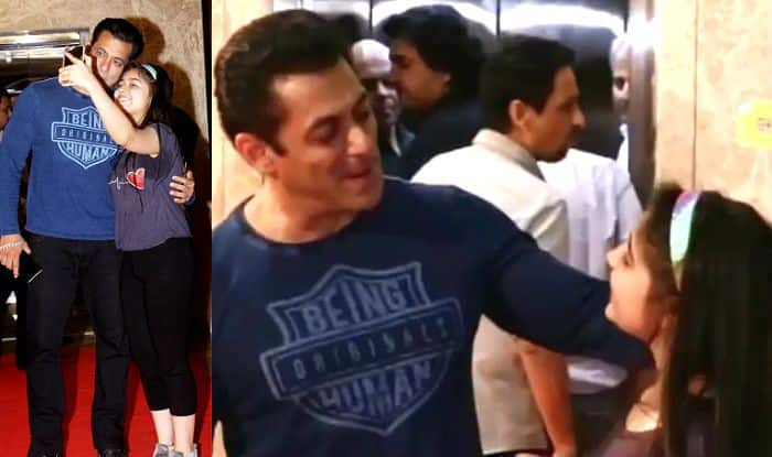 Salman Khan Sweetly Blesses Little Girl, Clicks Happy Selfie With Her – Video Goes Viral