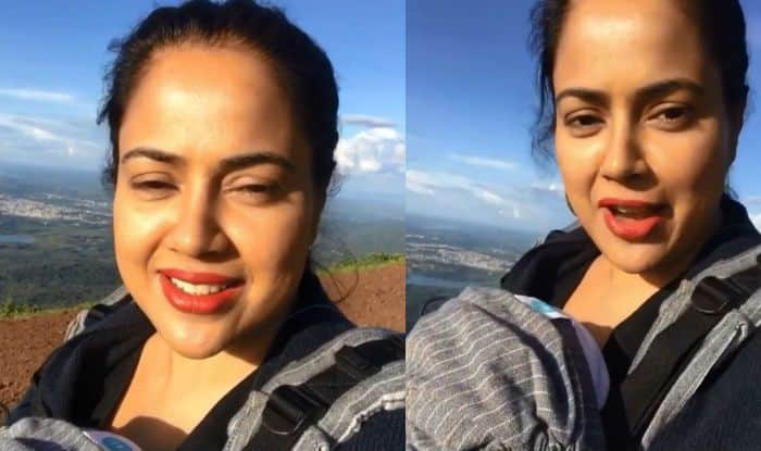 Sameera Reddy Reveals Why She Climbed Karnataka's Highest Peak With 2-Months-Old Daughter, Says Kareena Kapoor Khan is Inspiration