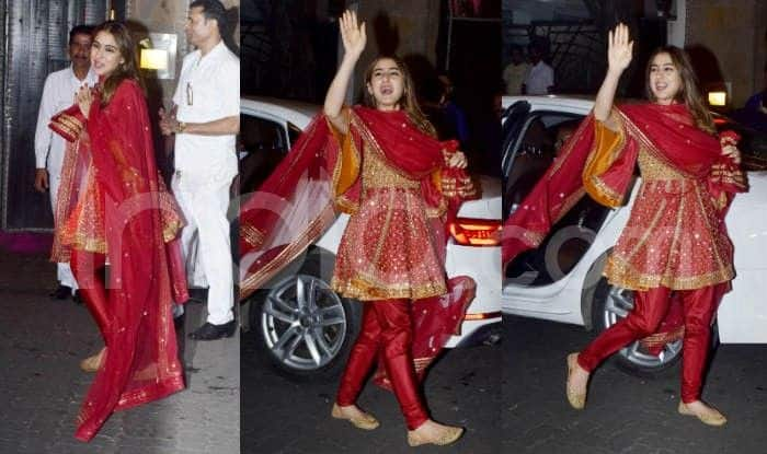 Sara Ali Khan's Short Anarkali by AJSK For Diwali Festivities Looks Absolutely Radiant And Youthful – Check Viral Photos