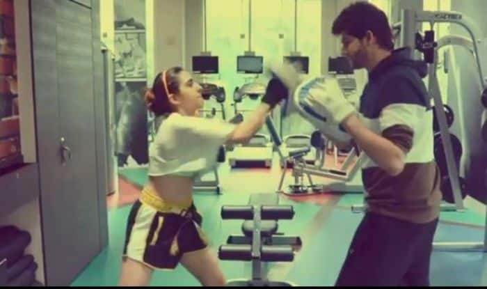 Sara Ali Khan's New Spirited Workout Will Inspire You to Hit The Gym on Saturday- Watch