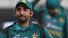 Sarfaraz Ahmed Sacked as Captain, Dropped For Australia Tour