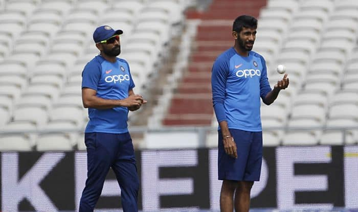 mohammed shami jasprit bumrah photo