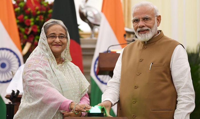 Sheikh Hasina PM Modi photo