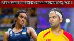 French Open Badminton 2019 Day 1 Live Score: PV Sindhu, Subhankar Dey in Action