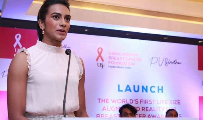 World Champion PV Sindhu To Raise Breast Cancer Awareness Using AR Technology