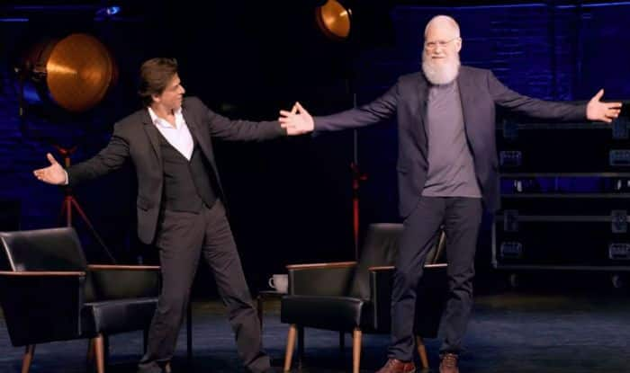 Watch Trailer of David Letterman's Talk Show 'My Next Guest Needs No Introduction' Featuring Shah Rukh Khan