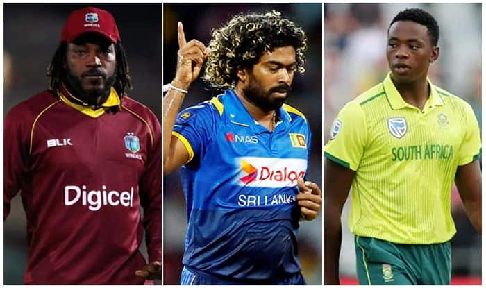 Chris Gayle, Lasith Malinga, Kagiso Rabada The Hundred Drafts