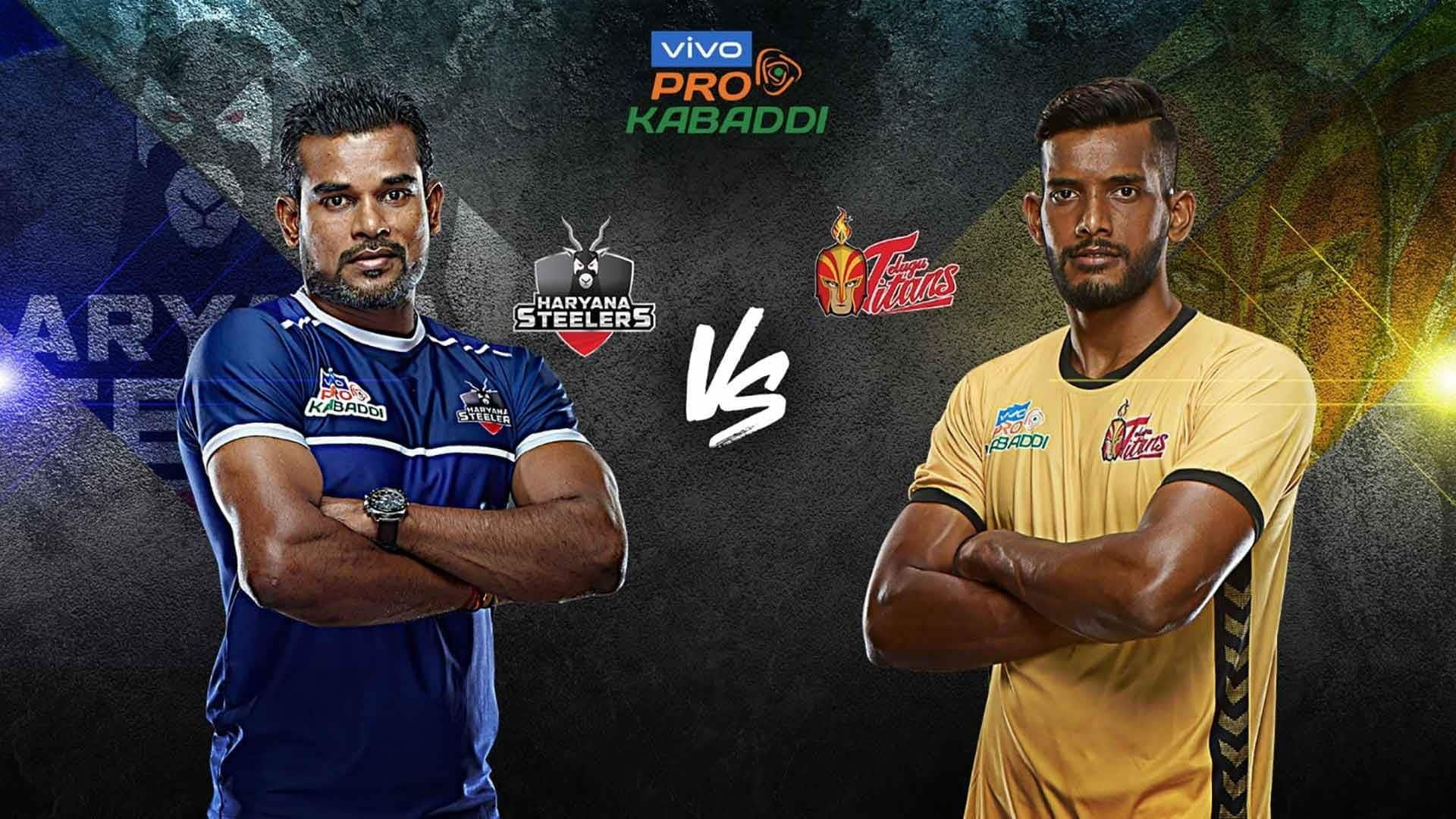 Haryana Steelers vs Telugu Titans Dream11 Team - Check My Dream11 Team, Best players list of Pro Kabaddi League 2019, Haryana Steelers vs Telugu Titans Dream11 Team Player List, Haryana Steelers Dream 11 Team Player List, Telugu Titans Dream11 Team Player List, Dream11 Guru Tips, Online Tips And Predictions - Pro Kabaddi 2019, Online Kabaddi Tips - PKL 2019, Online Kabaddi Tips and Predictions - Pro Kabaddi League.