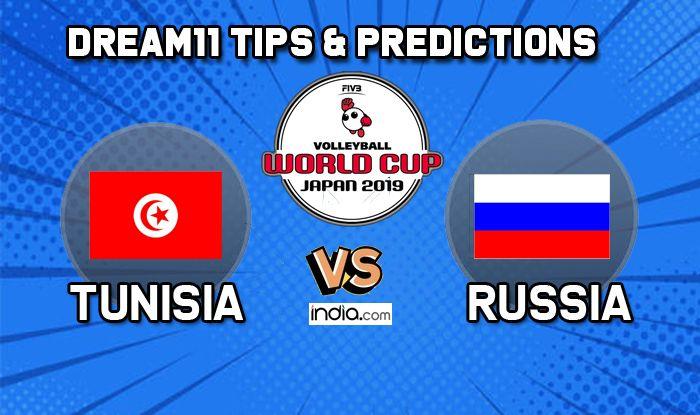 dream11 tunisia vs russia volleyball