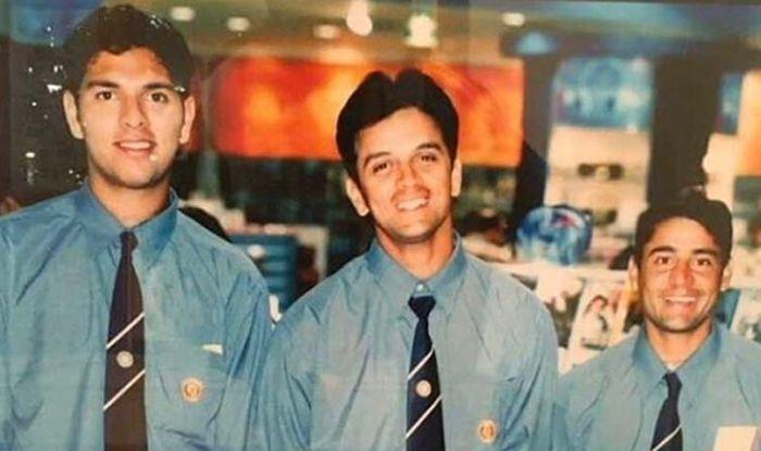 Yuvraj Singh Shares Throwback Picture With Rahul Dravid, Vijay Dahiya