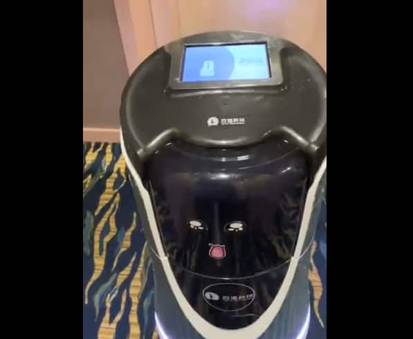 Watch | Room Service Robot Delivers Coffee at This Shanghai Hotel, Video Goes Viral