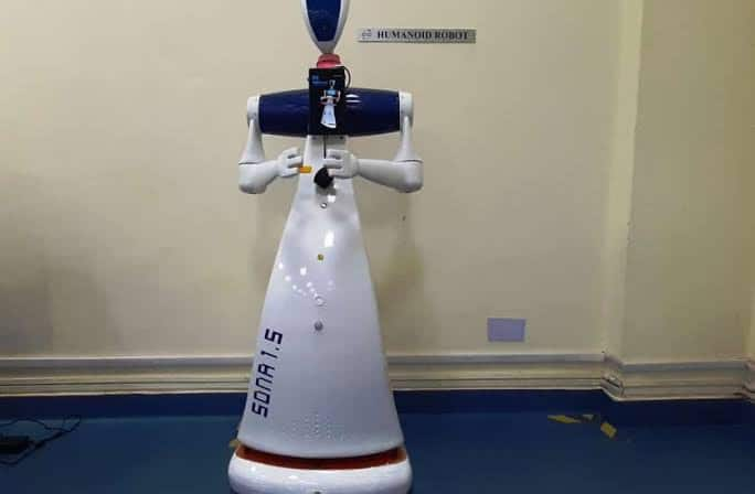Made in India: Rae Bareli Coach Factory Gets Humanoid Robot 'Sona 1.5' to Transport Documents