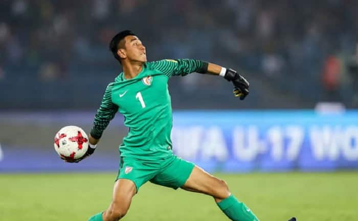 Young Goalkeeper Dheeraj Singh Earns Maiden Call-up in Indian Team for FIFA World Cup Qualifiers
