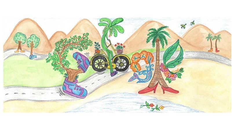 Google Doodle celebrates Children's Day with 'The Walking Tree' doodle by 7-year-old student