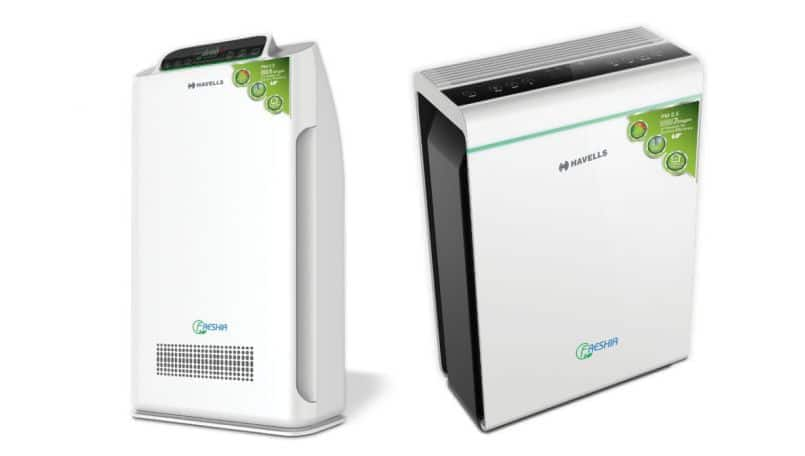 Havells Freshia range of air-purifiers with up to 9-stage filtration launched in India