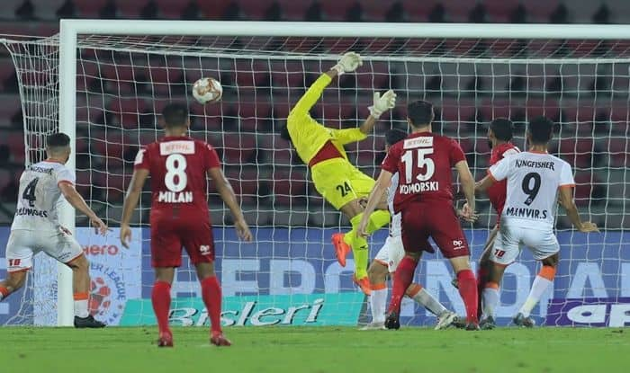 Manvir Singh's Last-Minute Gasp Rescues Point For Goa FC in ISL Clash Against NorthEast United FC, Football News, NorthEast United FC, FC Goa