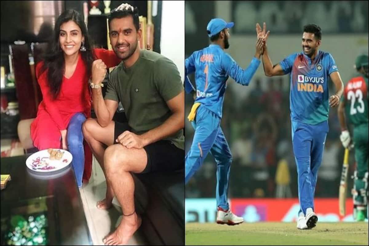 I Still Have Goosebumps Deepak Chahar S Sister Malti Reacts On T20i Hat Trick India Com