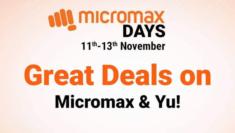 Micromax Days Sale event offers impressive deals on Flipkart: Details