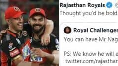 Did Rajasthan Royals Troll RCB For Not Releasing Mr. Nags?