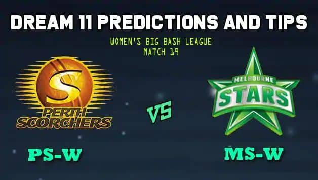 Perth Scorchers vs Melbourne Stars Women Dream11 Predictions