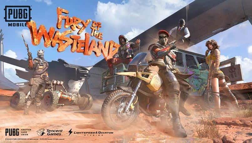 """PUBG Mobile officially unveils Royale Pass Season 10 """"Fury Of The Wasteland"""""""