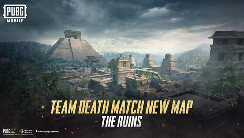 PUBG Mobile update 0.15.5 confirmed to get new Ruins TDM Map