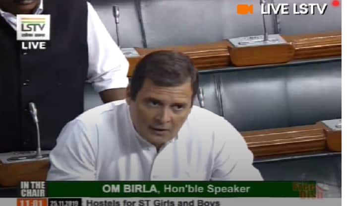 'Democracy Murdered in Maharashtra,' Says Rahul Gandhi in Lok Sabha as Congress Goes on Offensive
