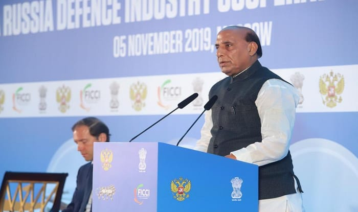 India, Russia Can Jointly Manufacture Defence Equipment For Exports to Third Countries: Rajnath Singh in Moscow