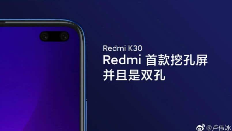 Redmi K30 features leaked; to include 120Hz display, 60MP camera sensor and more