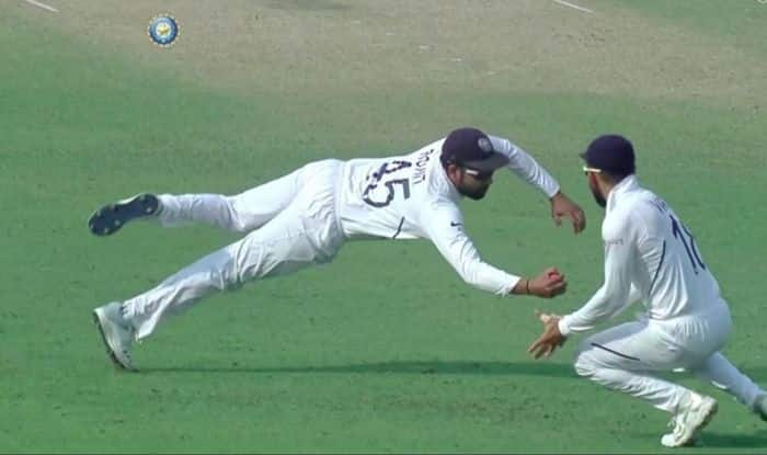 Rohit Sharma, Rohit Sharma catch, Pink Ball Test, Eden Gardens, India vs Bangladesh, Bangladesh tour of India, Cricket News, Day-Night Test, Mominul Haque, Rohit Sharma age, Rohit Sharma wife, 2nd Test