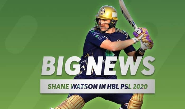 Shane Watson Returns to Pakistan Super League, Included in Platinum Category For PSL Draft, Cricket News, Shane Watson news, PSL Draft 2020, 2020 PSL Draft, Shane Watson age, Shane Watson wife, Shane Watson runs, Shane Watson franchise, HBL Shane Watson