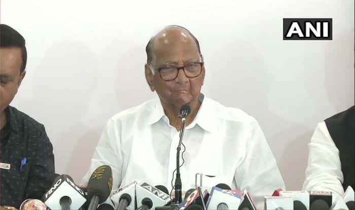 Sharad Pawar Rejects Nephew Ajit's Claim, Says 'No Question of Forming Alliance With BJP'