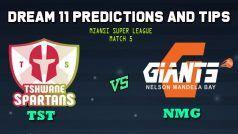 Tshwane Spartans vs Nelson Mandela Bay Giants Dream11 Team Prediction Mzansi Super League 2019