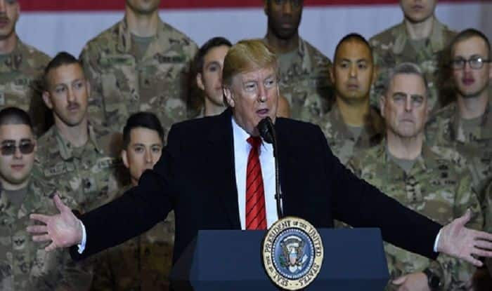 Donald Trump Makes Surprise Trip to Afghanistan on Thanksgiving, Eats Turkey With Troops