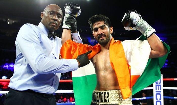 Vijender Singh, Vijender Singh news, Charles Adamu, Pro Boxing, Pro Boxing News, Commonwealth champion Charles Adamu, Vijender Singh age, Vijender Singh wife, Vijender Singh salary,Vijender Singh titles, Vijender Singh facts