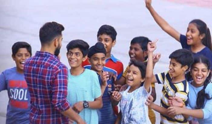 Virat Kohli Shares Special Message on Children's Day, Urges Parents to Allow Kids to Play   WATCH VIDEO