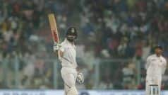 Pink Ball Test India vs Bangladesh 2019: Virat Kohli Rock Solid as India Dominate Day 1