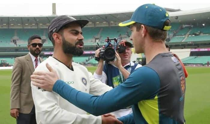 Virat Kohli, Virat Kohli News, Virat Kohli vs Tim Paine, Virat Kohli Fight, Kohli hits back at Paine, Kohli responds to Paine, Virat Kohli vs Australia, Tim Paine, Paine on Kohli, Paine on playing Pink-Ball Test vs India, India vs Australia 2020, Australia vs India 2020 Test series, Tim Paine trolls Virat Kohli, Team India, Latest Cricket News, India vs Australia Day-Night Test