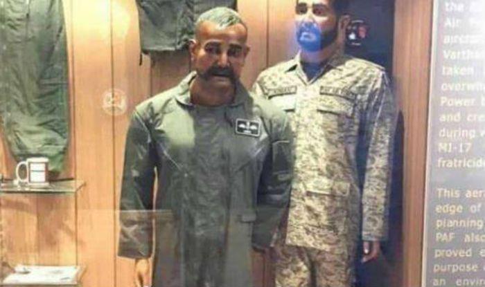 Seriously! Pakistan War Museum Displays Abhinandan's Mannequin Next to Tea Cup