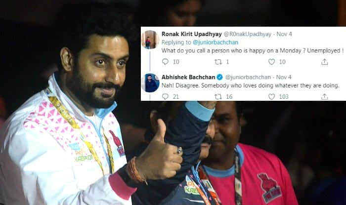 Abhishek Bachchan's Savage Reply to Troll Who Called Him Unemployed is Why You Don't Mess With a Bachchan!